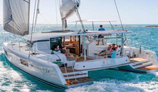 Chárter náutico: Una actividad marítima de disfrute